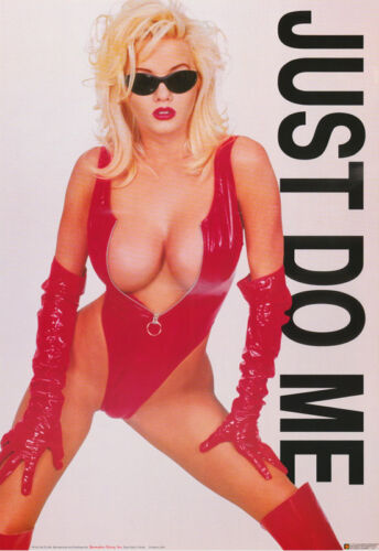 POSTER : JUST DO ME - SEXY FEMALE MODEL -  FREE SHIPPING !   #3142  LP59 M
