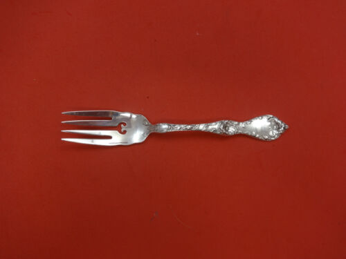 Les Cinq Fleurs by Reed & Barton Sterling Silver Salad Fork Pcd w/Heart & Wavy