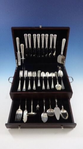 Fairfax by Gorham Sterling Silver Flatware Set For 8 Service 68 Pieces