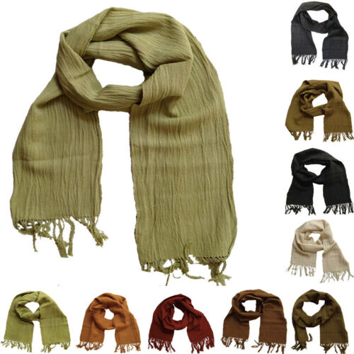 Cotton Scarf - Handmade in Senegal - 10 Colours - Fair Trade