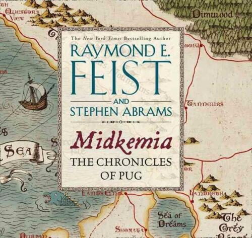 Midkemia: The Chronicles of Pug by Raymond E Feist Free Shipping!