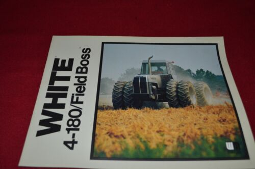 White Oliver Tractor 449 Plow Dealer/'s Brochure PBPA