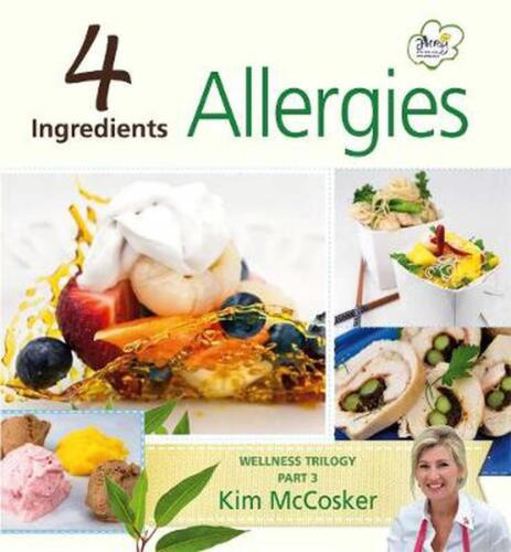 4 Ingredients Allergies by Kim McCosker Paperback Book Free Shipping!