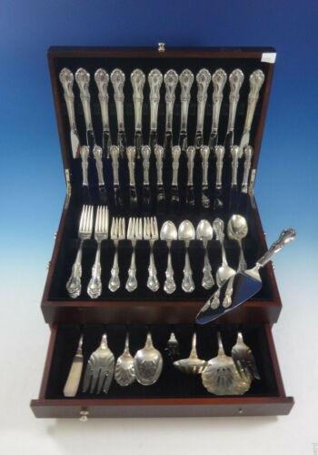 Joan of Arc by International Sterling Silver Flatware Set 12 Service 83 Pieces