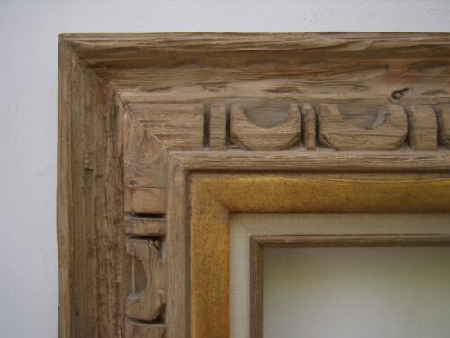 Hand Carved Wood Rustic Western Southwestern Picture Frame Any Size Up to 8x10