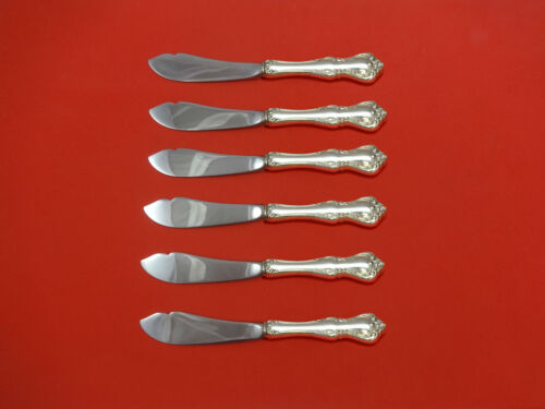 Debussy by Towle Sterling Silver Trout Knife Set 6pc HHWS  Custom Made