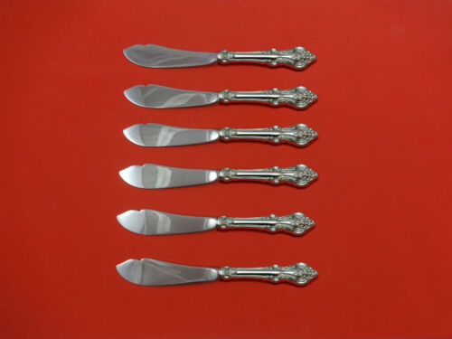 El Grandee by Towle Sterling Silver Trout Knife Set 6pc HHWS  Custom Made