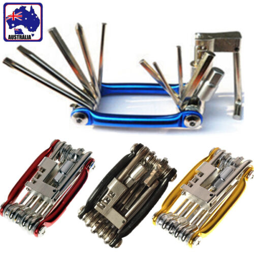 Multi-function Bike Bicycle Chain Extractor Cycling Repair Tools Kit TBISC 11