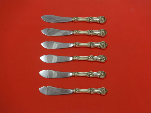 Federal Cotillion by Frank Smith Sterling Silver Trout Knife Set 6pc Custom