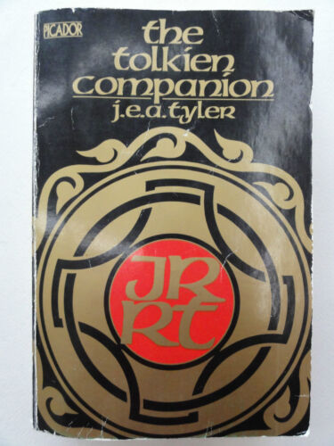 THE TOLKIEN COMPANION BY J E A TYLER 1977