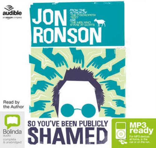 So You've Been Publicly Shamed by Jon Ronson Free Shipping!