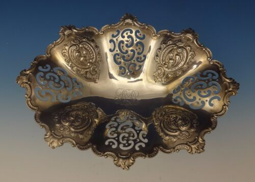 Theodore B. Starr Sterling Silver Bowl Pierced Fancy w/Repoussed Design (#0658)