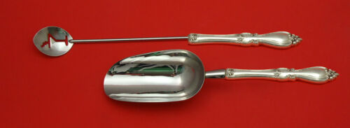 Queen Elizabeth I by Towle Sterling Bar Set 2pc HHWS  Custom Made