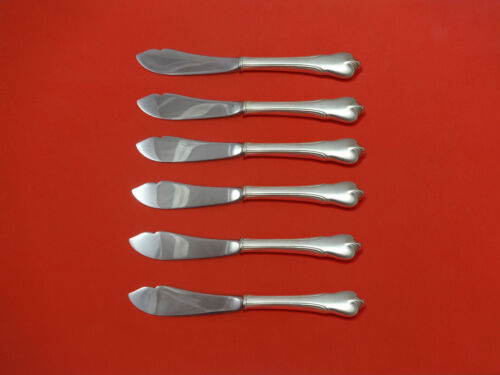 Grand Colonial by Wallace Sterling Silver Trout Knife Set 6pc HHWS Custom Made