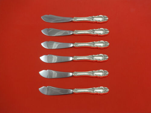Grand Duchess by Towle Sterling Silver Trout Knife Set 6pc HHWS  Custom Made