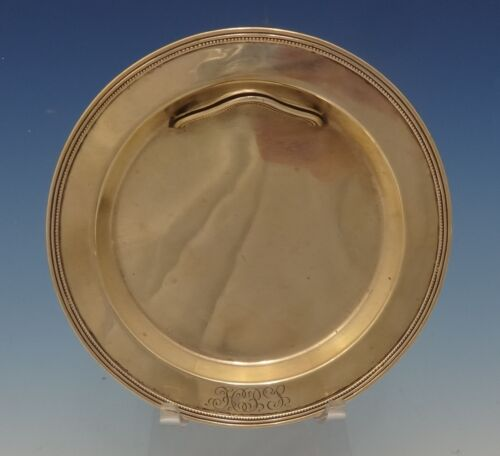 Old Newbury by Towle Sterling Silver Butter Plate with Knife Rest (#0490)