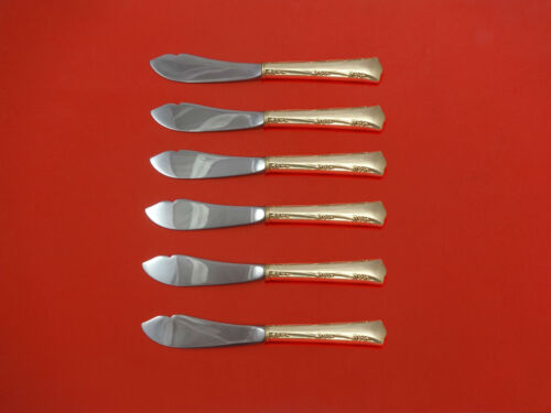 Greenbrier by Gorham Sterling Silver Trout Knife Set 6pc HHWS  Custom Made