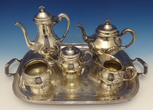 Onslow by Tuttle Silverplate Tea Set 6pc (#0503)