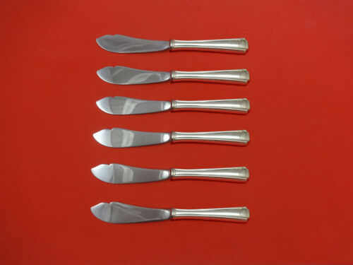John & Priscilla by Westmorland Sterling Silver Trout Knife Set 6pc Custom