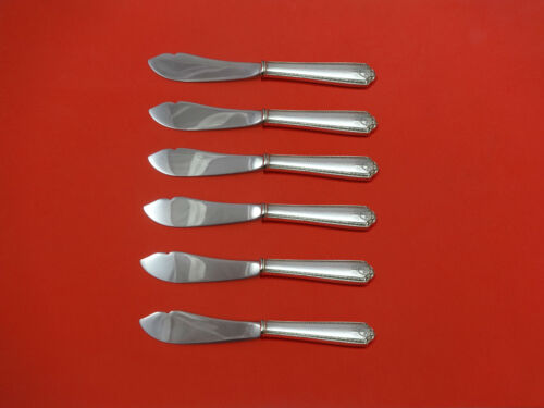 Lady Hilton by Westmorland Sterling Silver Trout Knife Set 6pc HHWS  Custom Made