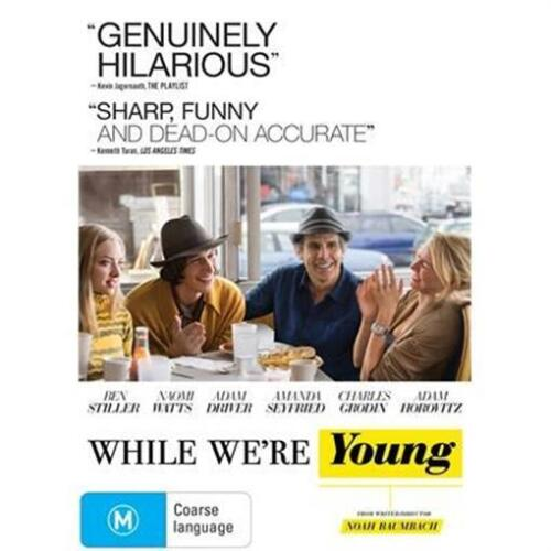 WHILE WE'RE YOUNG Ben Stiller & Naomi Watts (DVD, 2015) NEW