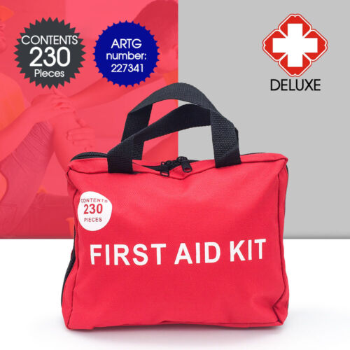 230 Pieces Every Family ARTG Registered First Aid Kit-A Must Have AU