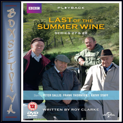 LAST OF THE SUMMER WINE - COMPLETE SERIES 27 & 28  ** BRAND NEW DVD***