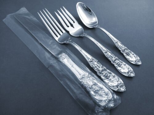 Richelieu-International Sterling 4-PC Place Setting(s) W/ Place Size Knife