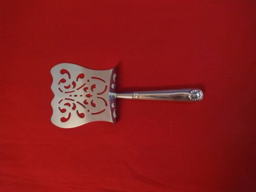 Fiddle & Shell by English Sterling Silver Asparagus Server Hooded HHWS  9 3/8""