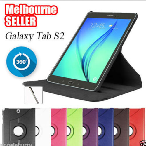 Smart Rotation Stand Tab S2 Case Cover for Samsung Galaxy Tab S2 8.0 9.7 Tablet