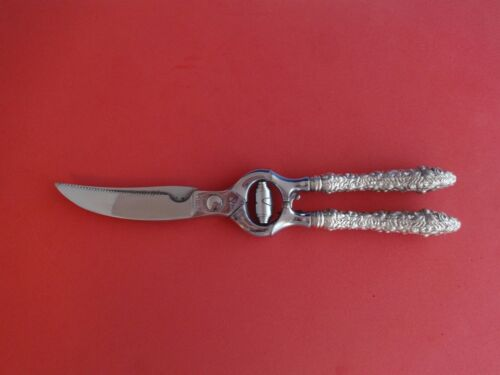 """Rose by Stieff Sterling Silver Poultry Shears 11"""""""