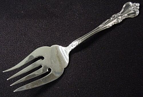 SAVANNAH - REED & BARTON STERLING COLD MEAT FORK