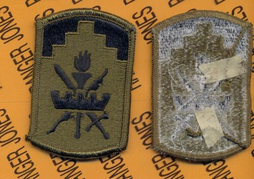 Army Patch 353rd Civil Affairs Command merrowed edge