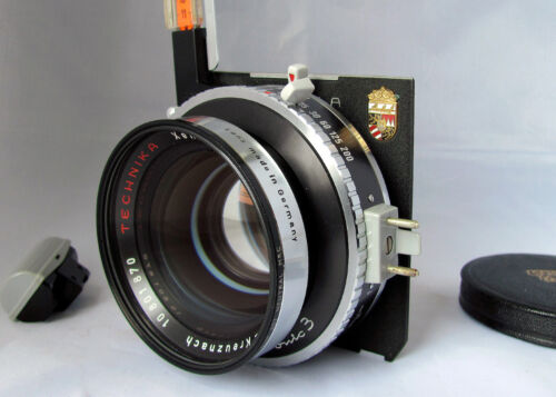 Schneider Technika Xenotar 150mm f/2.8 Lens 4x5 Linhof Selected Late Version EX+ <br/> Extremely Rare, Hard to Acquire Lens-Few Late Examples!