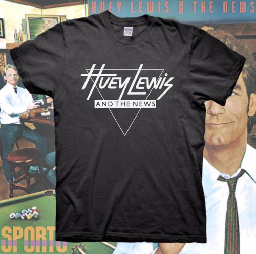 f5935b84 HUEY LEWIS AND THE NEWS T-Shirt Tour Back To The Future Hall & Oates
