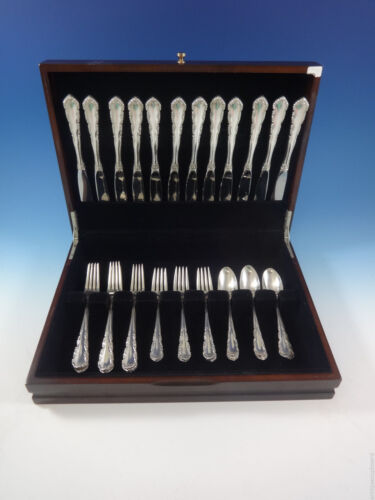 Shenandoah by Wallace Sterling Silver Flatware Set For 12 Service 48 Pieces