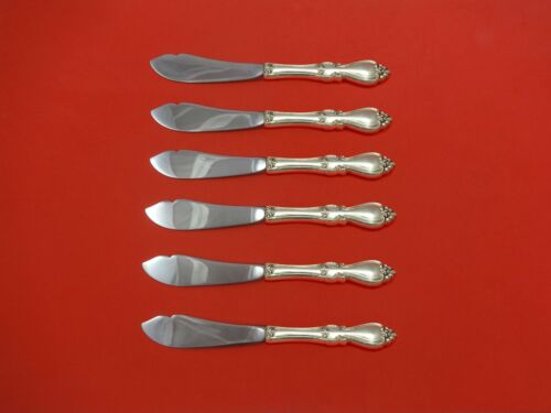"""Queen Elizabeth I by Towle Sterling Trout Knife Set 6pc. HHWS  Custom 7 1/2"""""""
