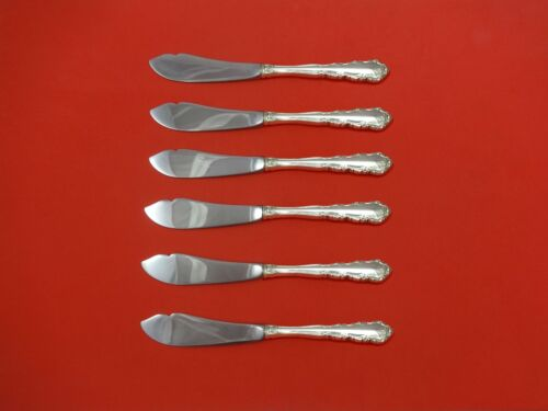 """Shenandoah by Wallace Sterling Silver Trout Knife Set 6pc. HHWS  Custom 7 1/2"""""""