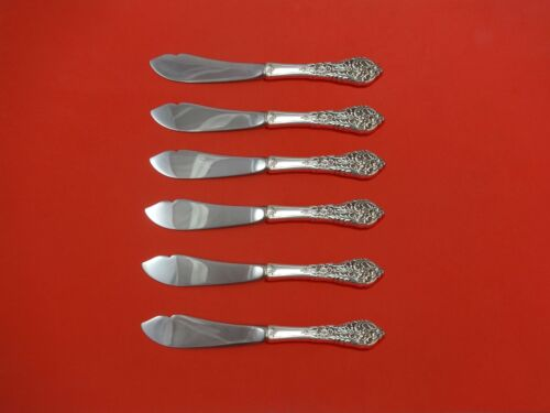 Florentine Lace by Reed & Barton Sterling Silver Trout Knife Set 6pc. Custom