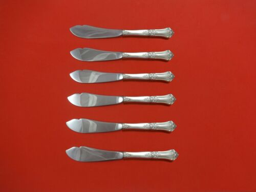 """Stately by State House Sterling Silver Trout Knife Set 6pc. HHWS  Custom 7 1/2"""""""