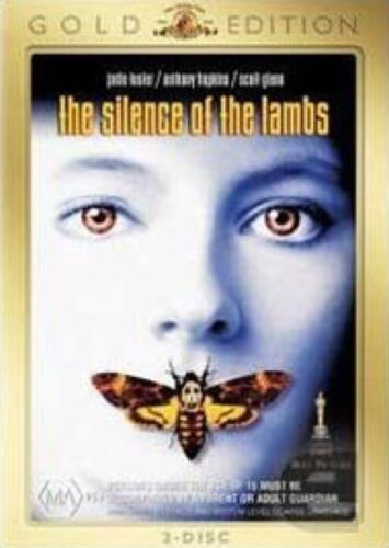The Silence Of The Lambs- DVD- Gold Edition- R4 Brand New Sealed Free Post!
