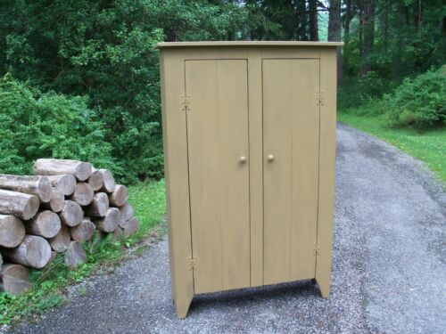 Primitive Handcrafted Cupboard Pantry (hanover)