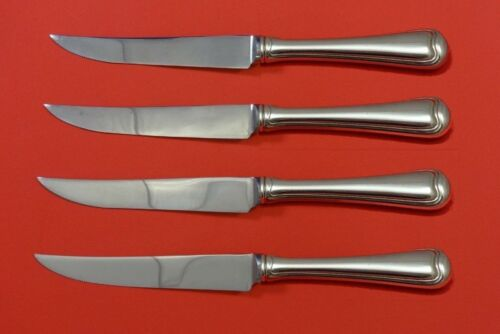 Old French by Gorham Sterling Silver Steak Knife Set 4pc HHWS Custom 8 1/2""