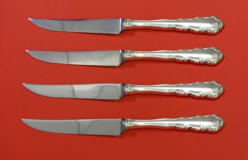 Shenandoah by Wallace Sterling Silver Steak Knife Set 4pc HHWS  Custom 8 1/2""