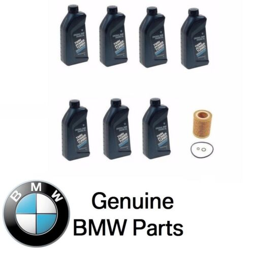 For Genuine BMW Engine Oil Filter+Synthetic 5w30 Motor Oil