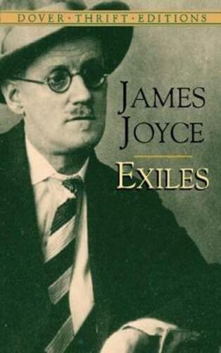 Exiles by James Joyce (English) Paperback Book Free Shipping!