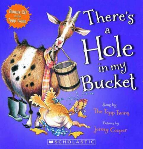 There's a Hole in My Bucket! Paperback Book Free Shipping!