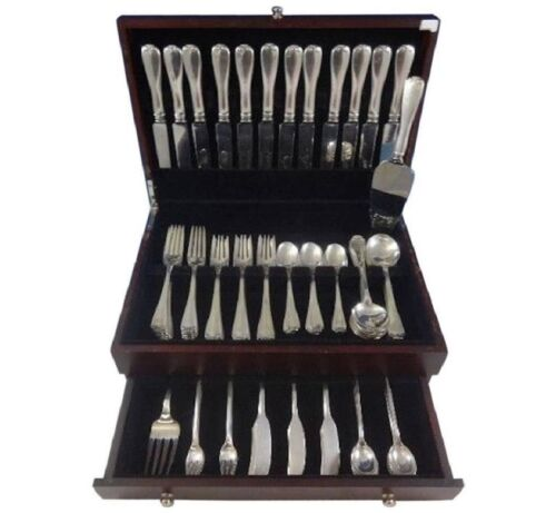 Flemish by Tiffany & Co. Sterling Silver Flatware Set 12 Service 98 Pieces