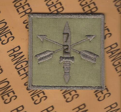 2nd Bn 7th Special Forces Group AIRBORNE SFGA OCP HCI Helmet Cover patchOther Militaria (Date Unknown) - 66534