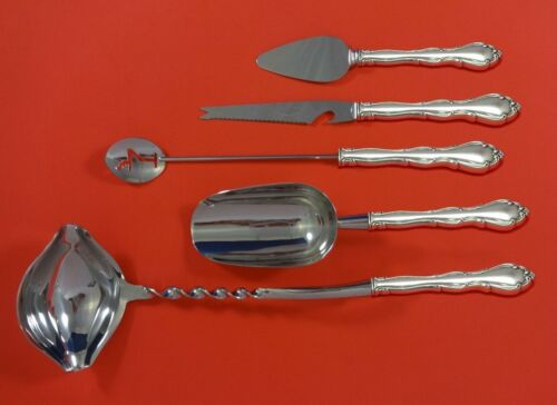 Fontana by Towle Sterling Silver Cocktail Party Bar Serving Set 5pc Custom Made